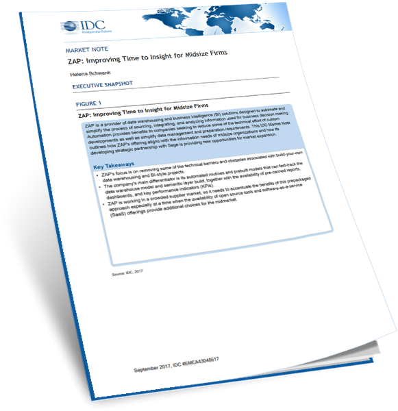 IDC Report Insight for Midsize Firms